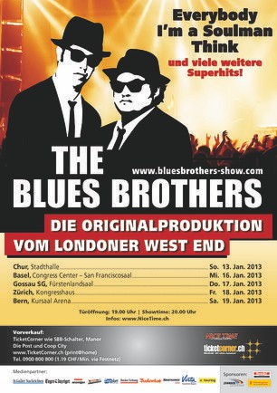 Flyer Blues Brothers